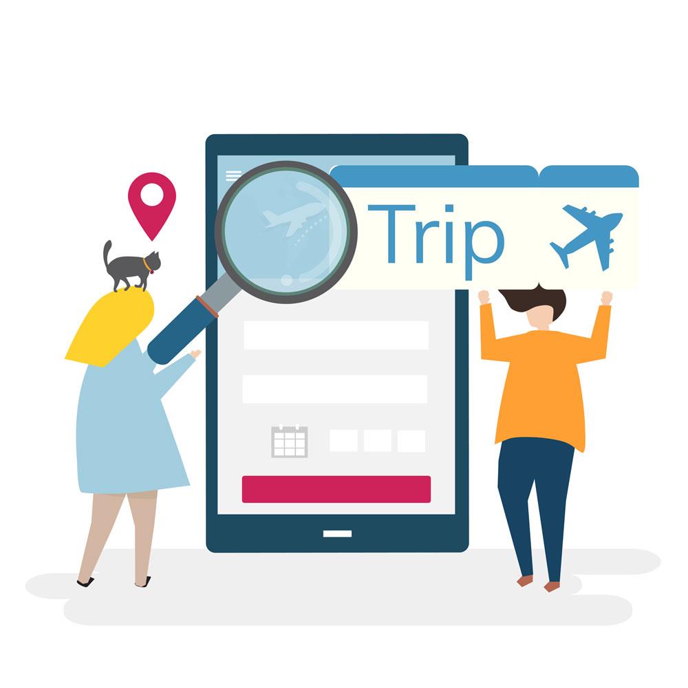 گسترش تکنولوژی در زمینه گردشگری