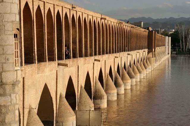 Sio-Se-Pol Bridge in Iran
