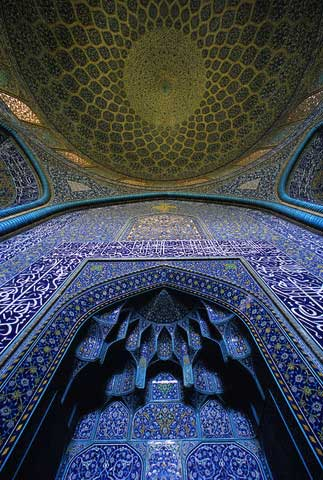 Interior of Mosque of Sheikh Lutfullah