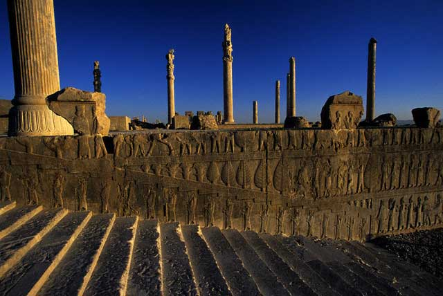 Stairs to the Apadana at Persepolis