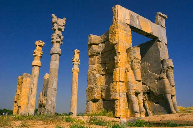 The Gate of all Nations, Persepolis, Fars Province, Iran