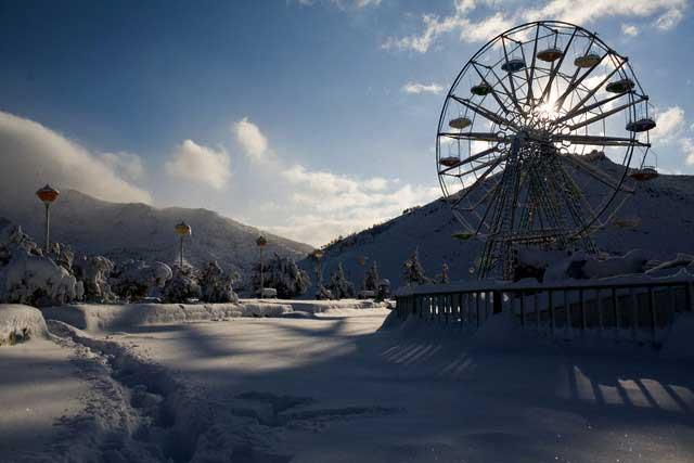 Iran - Kurdistan - Amusement Park
