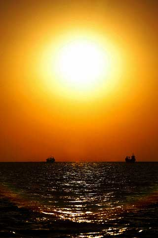 Iran - Persian Gulf - Sunset