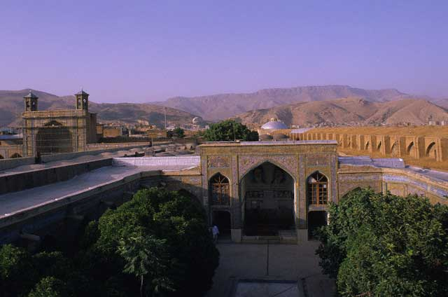 Liwan and Courtyard of Madrasa Baba Khan