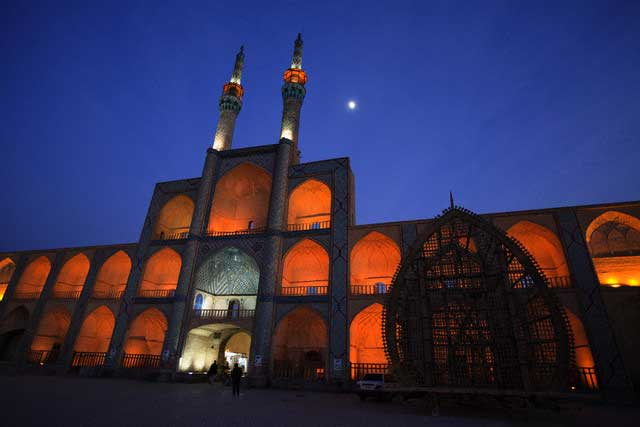 Amir Chakhmaq Mosque in Yazd