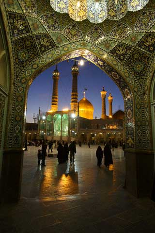 Shrine of Hazrat-e Masumeh in Qom