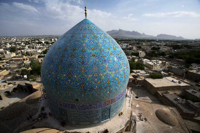 Main Dome of Imam Mosque in Esfahan