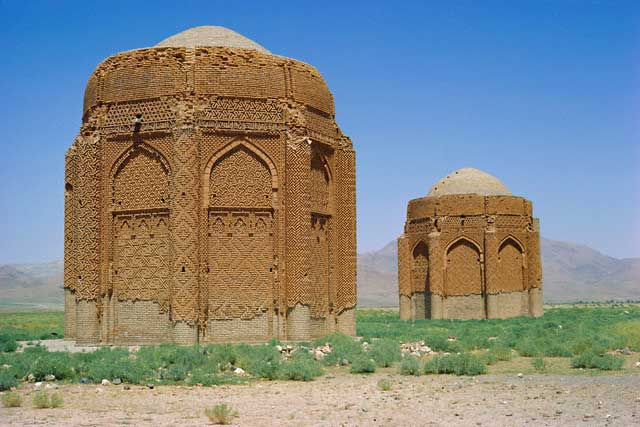 Kharraccum tomb towers, Iran