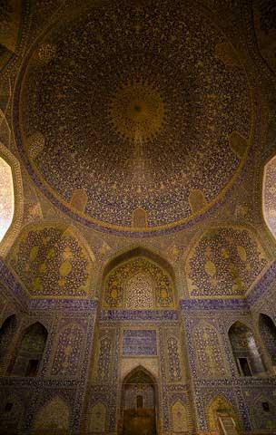 Iran - Religion - Abbasi mosque