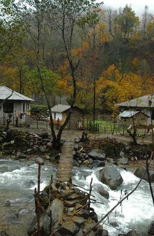 Iran - Culture - Village of Shah Milarzan in Gilan