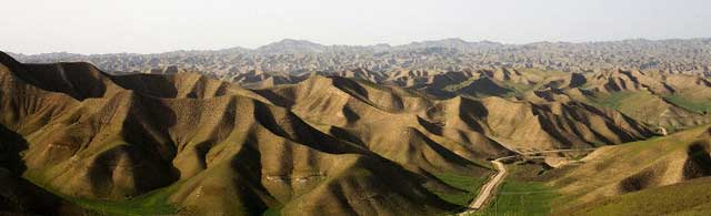 Iran - Gonbad - Hilly Landscape