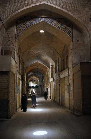 Arched Corridor in Bazar-e Bozorg