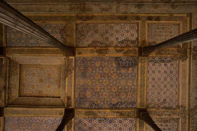 Talar Ceiling Inside Chehel Sotun
