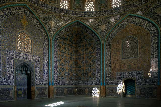 Praying Room in Mosque of Sheikh Lutfullah