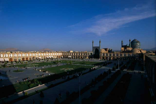 Imam Square and Imam Mosque in Esfahan