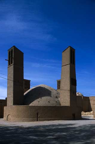Wind Towers and Cistern in Yazd