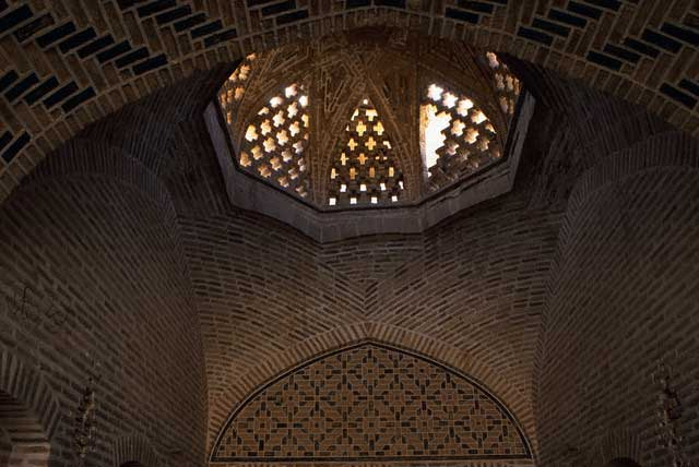 Detail of Dome Inside Caravanserai