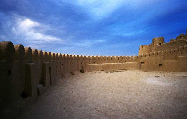 Walls at Arg-e Bam in Iran