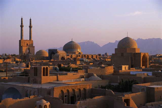 Skyline of Yazd
