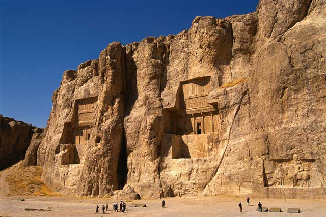 Naqsh-e-Rustam Tombs in Iran