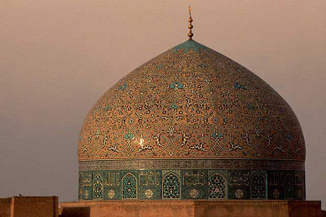 Dome of the Sheikh Lotfollah Mosque, Isfahan