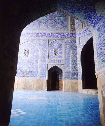 Inside of Masjed-e-Jame - Esfahan, Iran