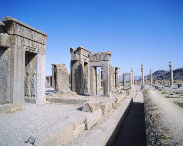 Xerxes Palace - Persepolis, Iran