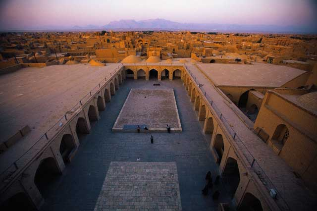 Courtyard of Congregational Mosque in Yazd