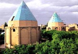 Baq-e-Gonbad Sabz Mausoleums, Qom
