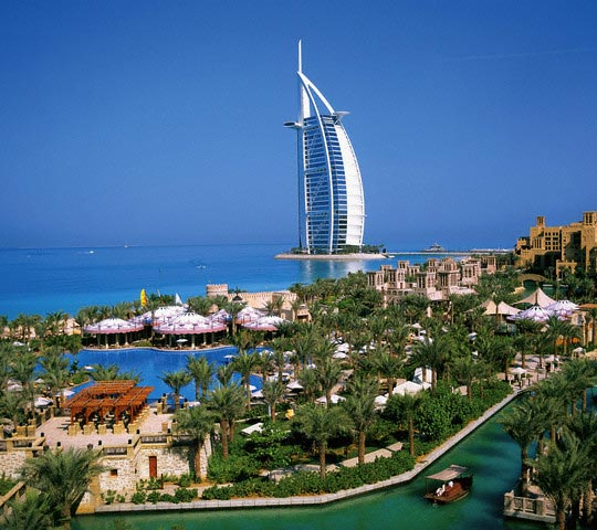 Burj Al Arab Hotel in the United Arab Emirate