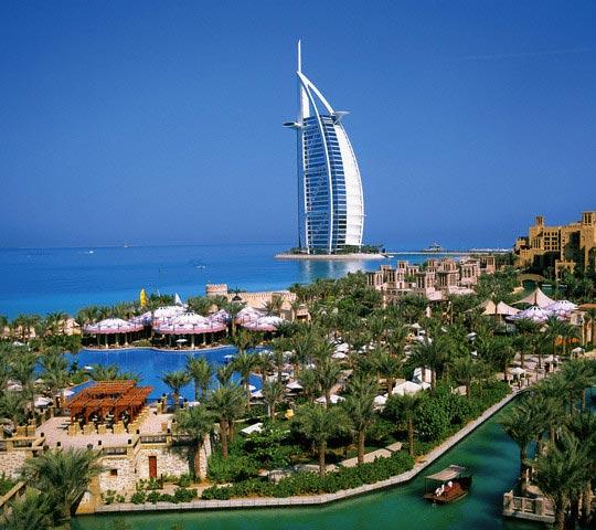 Burj Al Arab Hotel in the United Arab Emirate