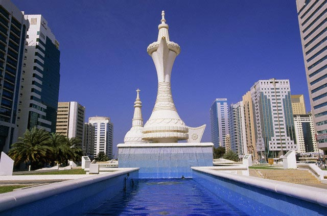 Fountain (form of a water carafe), Abu Dhabi,