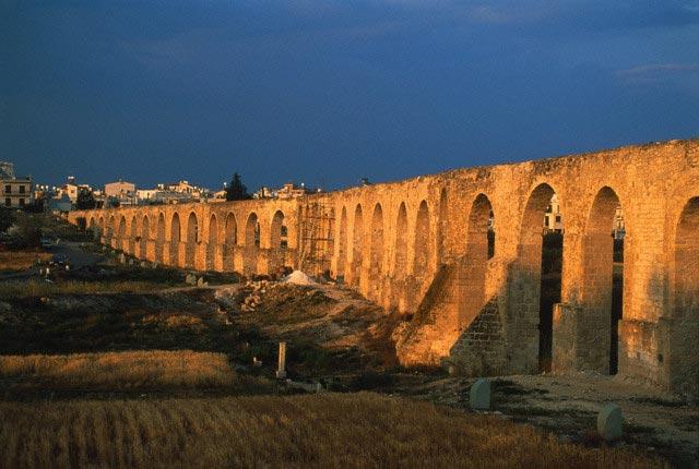 Europe, Cyprus, aqueduct