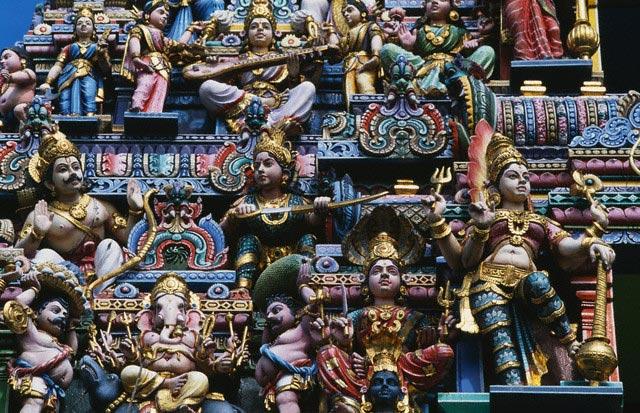 Sri Veeramakaliamman Temple, Singapure, China