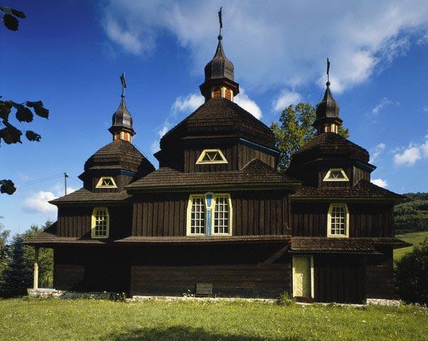 Historical wooden church, Slovak Republic, Bo