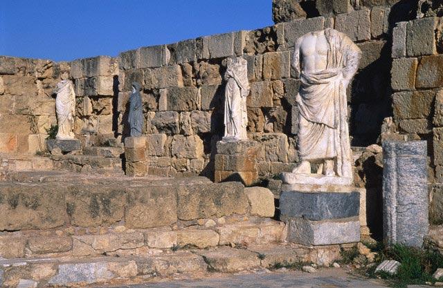 Statue on Salamis (Cyprus)