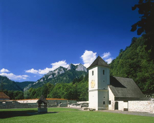 Red Monastery in Pieninen, Slovak Republic