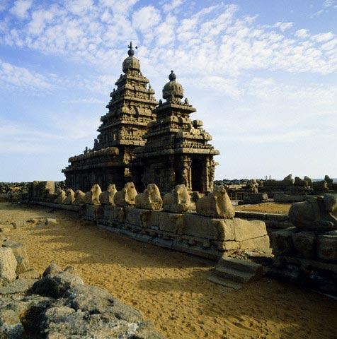 Shore Temple, Mamallapuram, India