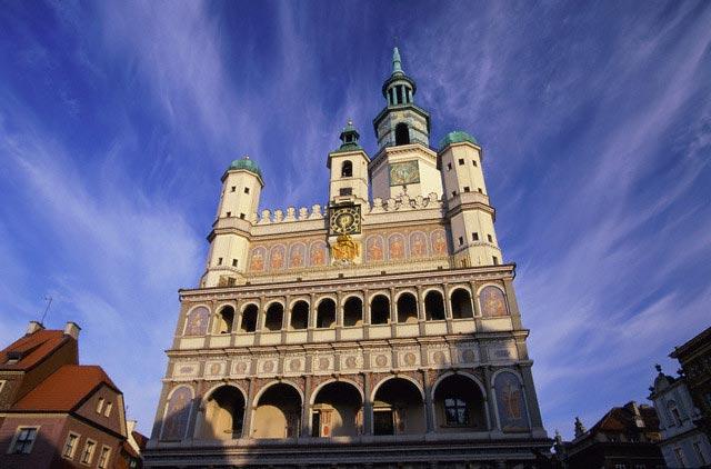 City Hall in Poznan
