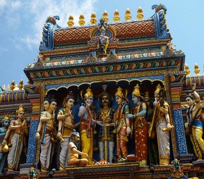 Sri Krishna Hindu Temple, Singapore