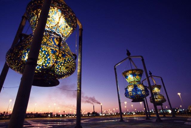Enormous Lamps