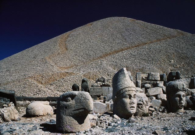 Colossal Heads at the Hierothesion of Antioch
