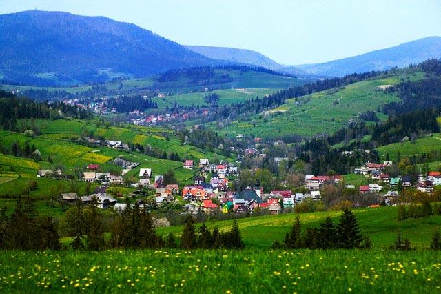 Zakopane Nestling in the Tatras Mountains