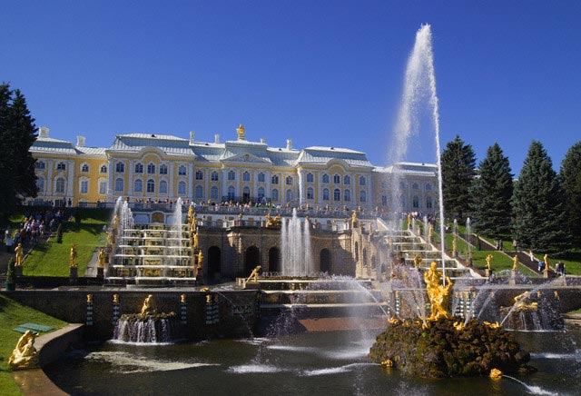 Peterhof Palace and the Grand Cascade