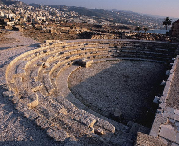 Amphitheater, The ruins of Biblos, Lebanon