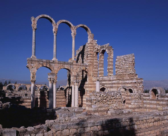 The remains of a royal palace