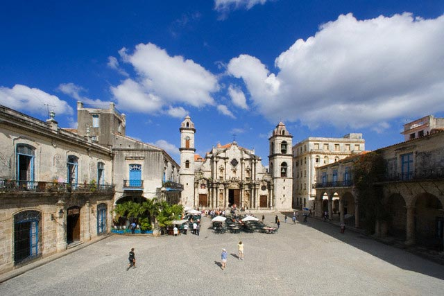 Cathedral of Havana and Public Square