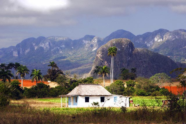 Countryside and Mountains in Vinales District