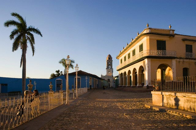 Mayor Square in Trinidad