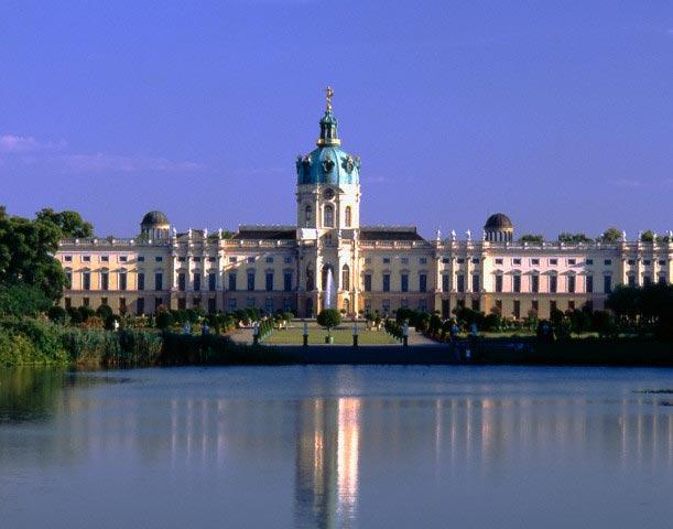 Charlottenburg Palace and Lake